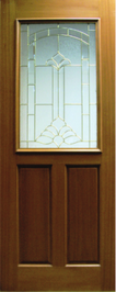 G-984 Decorative Glass Door