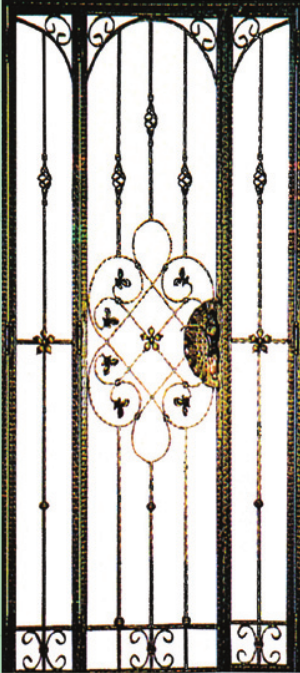 GW762 Wrought Iron Gate