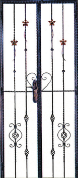 GW723 Wrought Iron Gate