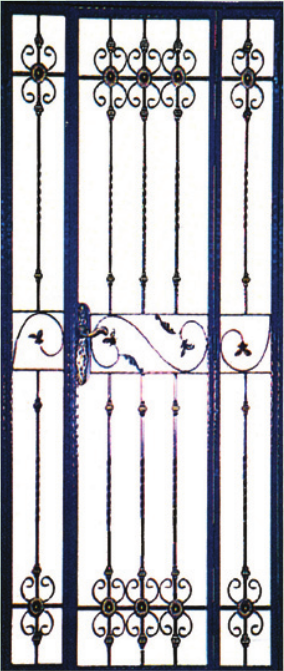 GW775 Wrought Iron Gate
