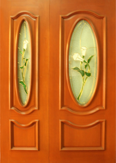 GG-99 Decorative Glass Door