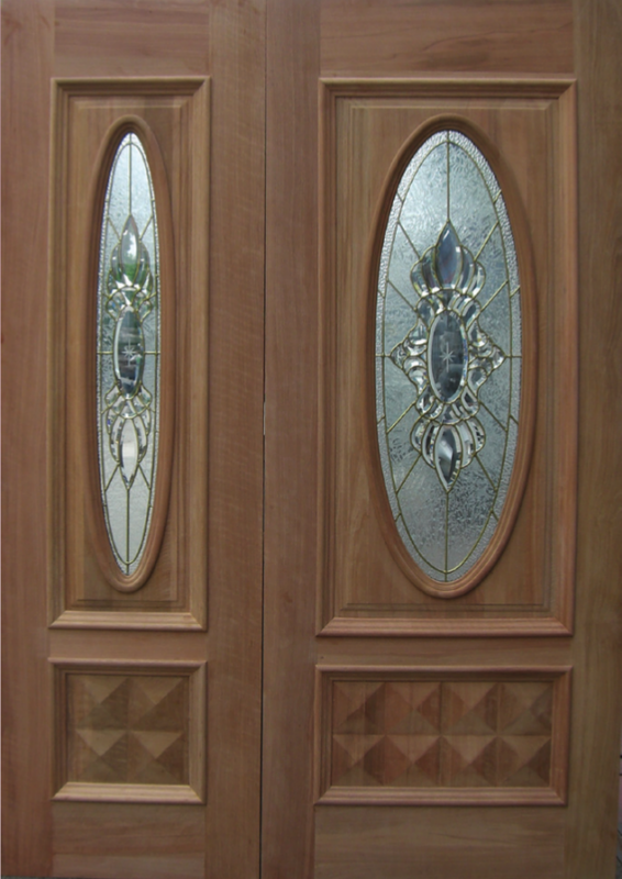 DMD-01 Decorative Glass Door